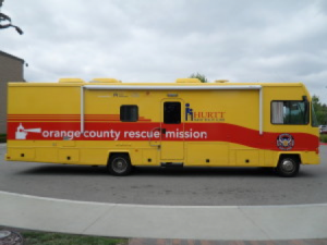 Orange County Rescue Mission Hurrt Mobile Clinic