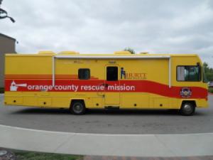 Orange County Rescue Mission Hurrt Mobile Clinic